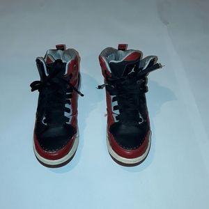 Jordan Flight Red & Black High Tops